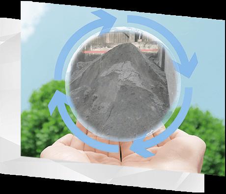 RECYCLING 廃プラスチック無機汚泥のリサイクル