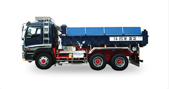 ダンプカー×10台(内クレーン付×1台)