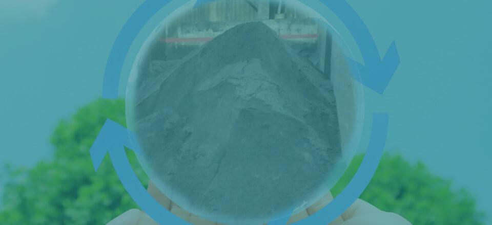 廃プラスチック無機汚泥のリサイクル